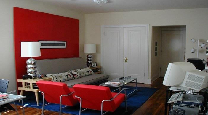 DC Apartments livingroom
