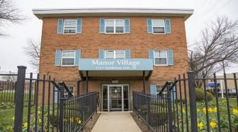 Manor Village Apartments: DC Apartments: Leasing Office: Entrance