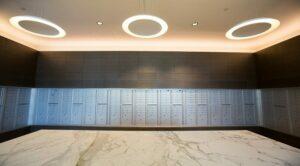 2M Street Apartments: DC Apartments: DC Rentals: Washington DC: Mailboxes