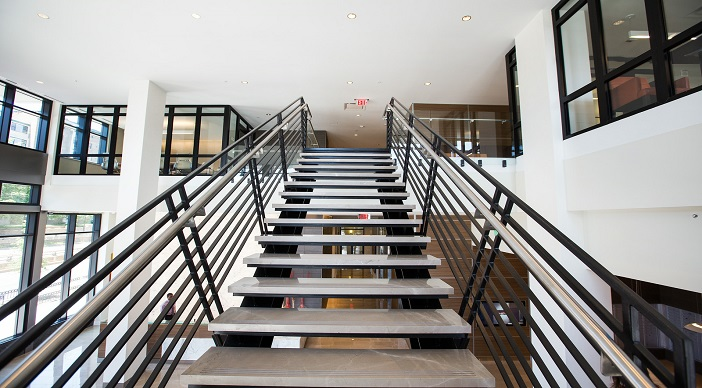 2M Street Apartments: DC Apartments: DC Rentals: Washington DC:Floating Stairs: Stairs