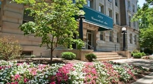 2701 Connecticut Ave: DC Apartments:Exterior: Building Entrance: