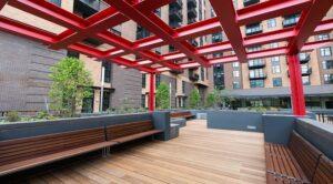 2m street apartments: DC Apartments: DC Rentals: Amenity Space: Zen Garden