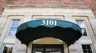 Apartments for Rent in Southeast Washington DC | 3101 Pennsylvania Ave SE | Building Entrance