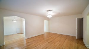 dc apartment rental livingroom