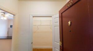 Hampton Courts: DC Apartments: Coat Closet