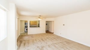 Hilltop House Apartments: DC Apartments:Living Room: Kitchen