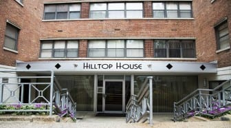 Hilltop House Apartments: DC Apartments:Building Entry