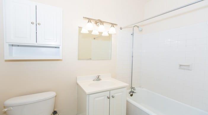 Washington DC Apartments for rent Bathroom