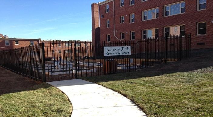 Fairway Park: Washington DC Apartments: Community Garden
