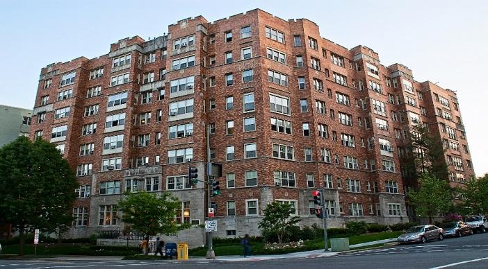 The Frontenac: Washington DC Apartments: Exterior