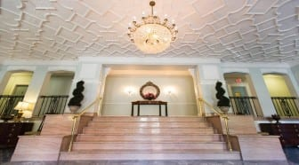 The Frontenac: Washington DC Apartments: Lobby: Stair