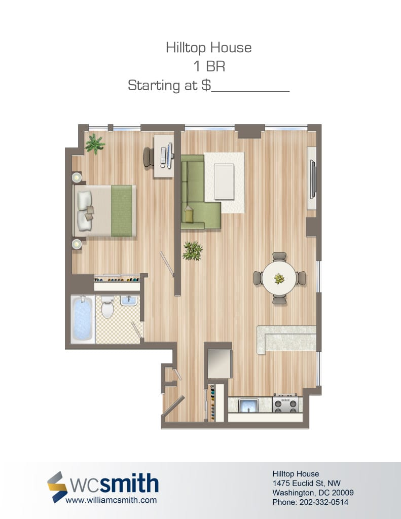 Hilltop house wc smith for Hilltop house plans