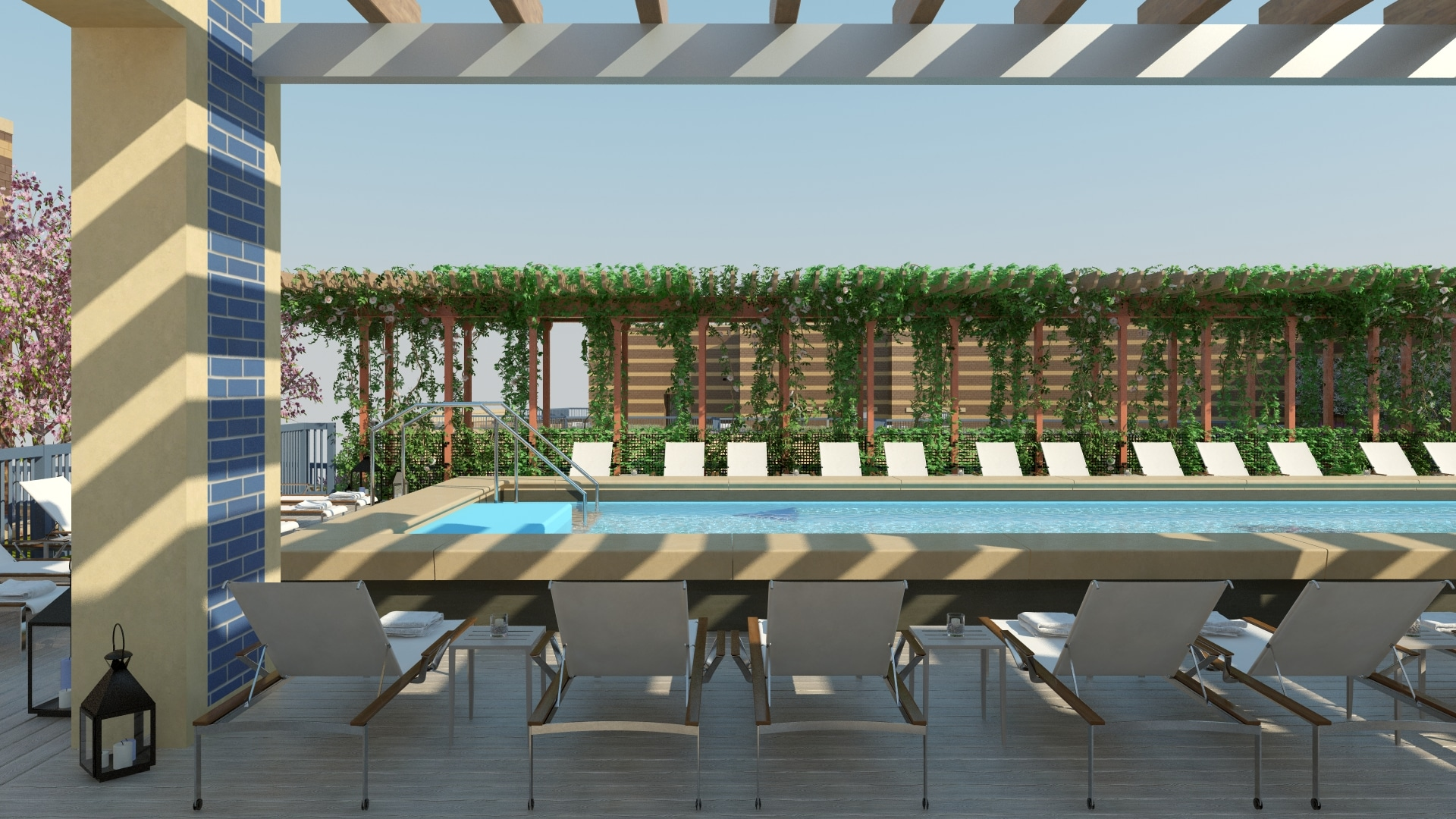 Park Chelsea Rooftop Pool | Luxury Pet-Friendly Apartments in Washington DC