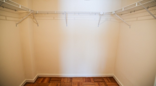 Closet in Bethesda Apartment Rental