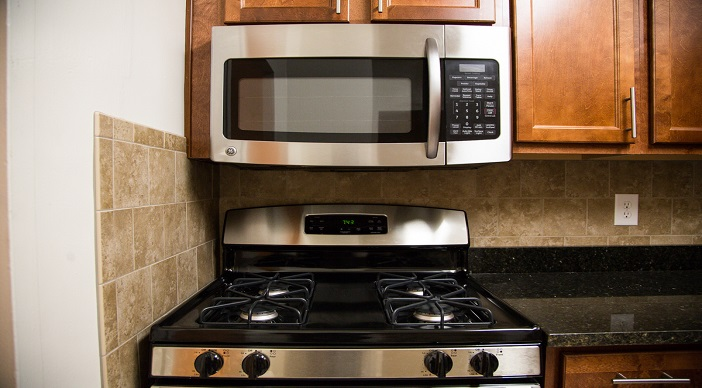 Applianceds in Washington DC Apartment Rental