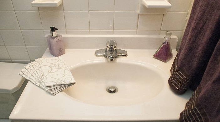 Garden Village Apartments: DC Apartments: Southeast: Bathroom Sink