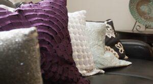 Garden Village Apartments: DC Apartments: Southeast: Pillows: Couch