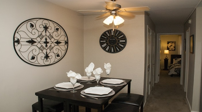 Garden Village Apartments: DC Apartments: Southeast: Dinning Room