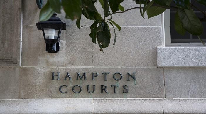 Hampton Courts: DC Apartments: Building Name