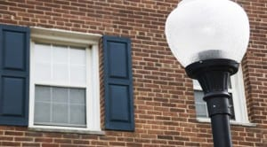 Jetu Apartments: Washington DC: Lamp