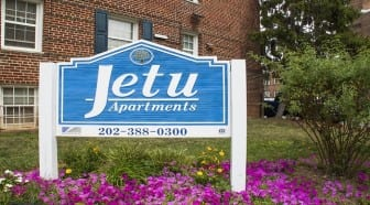 Jetu Apartments: Washington DC: Sign