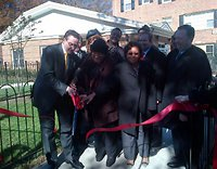 Mayor Gray Cuts Ribbon at Fairway Park Apartments