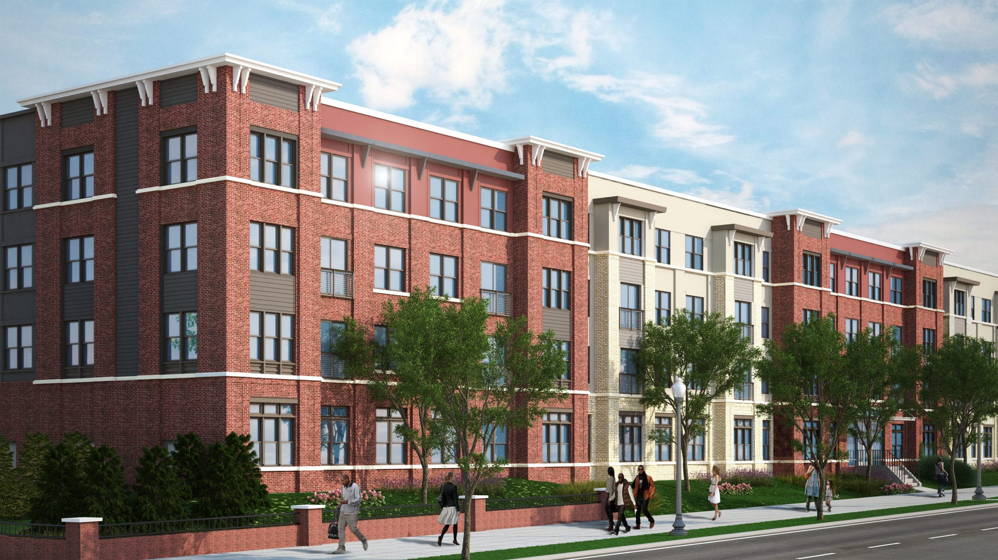 Wc smith celebrates start of archer park construction wc for Park ave apartments for sale