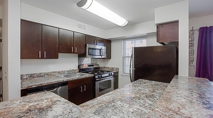 Fairway Park Apartments Northeast Dc Rentals Kitchen