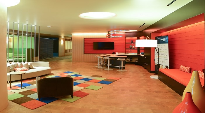 Leasing Office- Seating-Bar