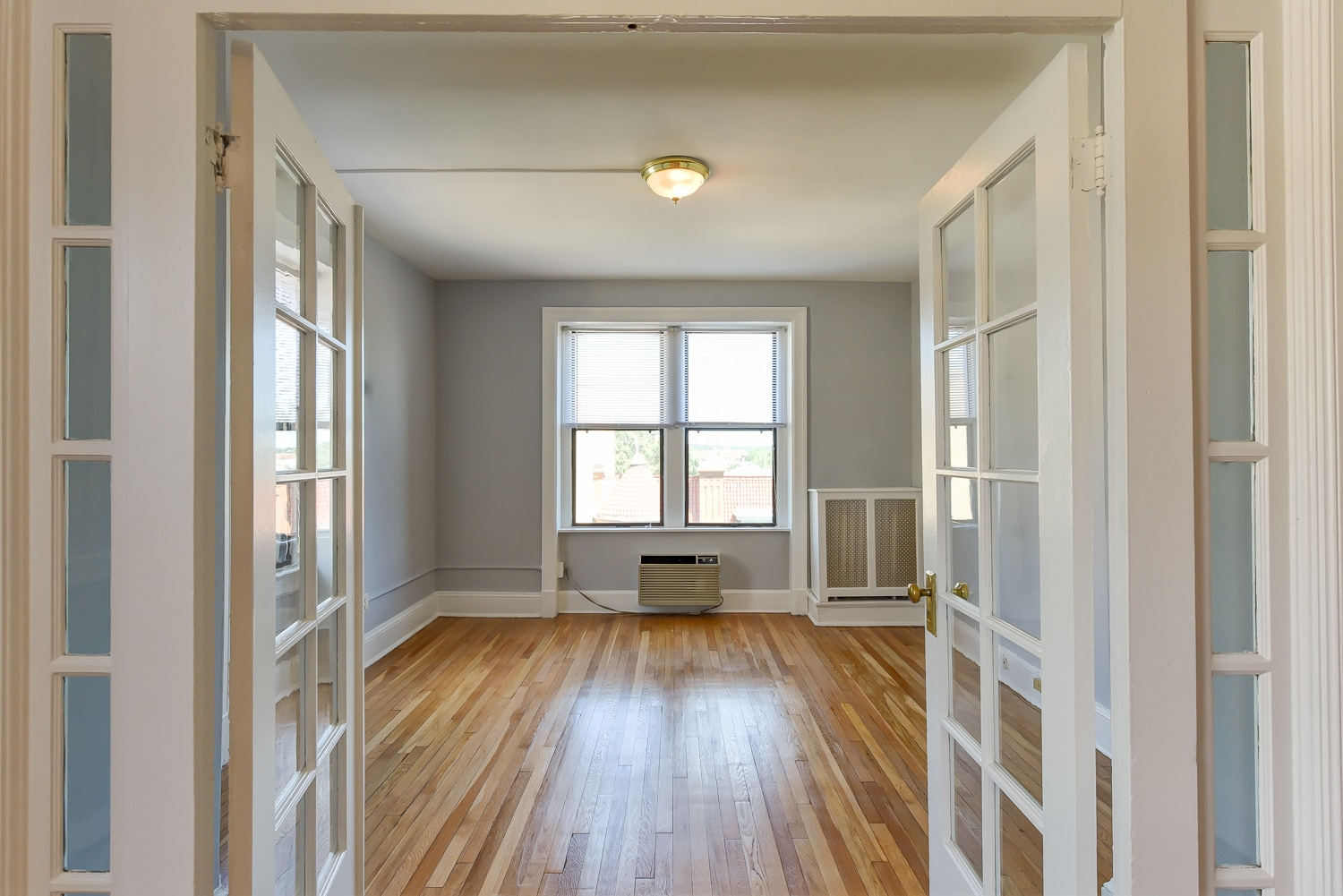 The Shawmut Bedroom French Doors DC Apartment Rentals
