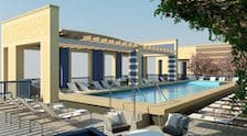 Rooftop pool at Park Chelsea at The Collective