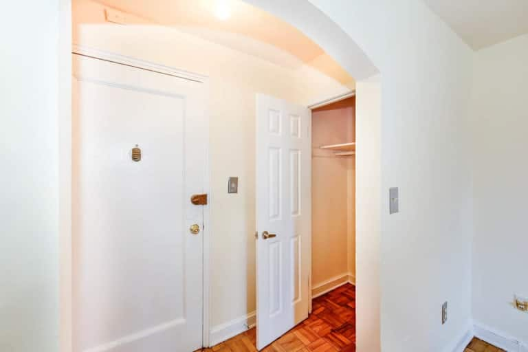 Randle Circle DC Apartment for Rent Front Door