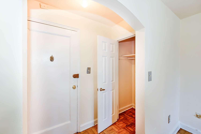 Randle-Circle-Apartment-Front-Door-Closet | WC Smith