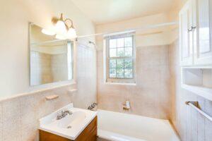Bathroom in Southeast DC Rental Apartment