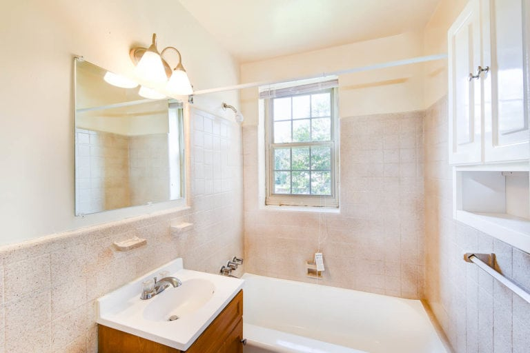Bathroom in Southeast DC Rental Apartment