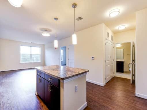 Archer-Park-Apartments-Washington-DC-SE-Livingspace-Kitchen and Bedrooms