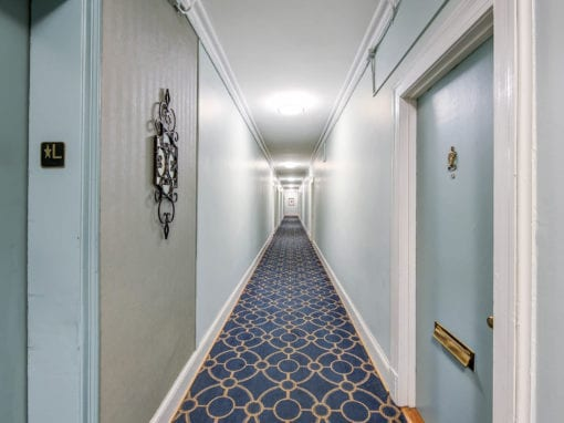 Clarence-House-Apartments-Washington-DC-Hallway