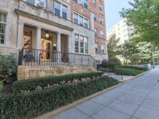 Frontenac-Exterior-Entrance-Washington-DC-Apartment-Rental