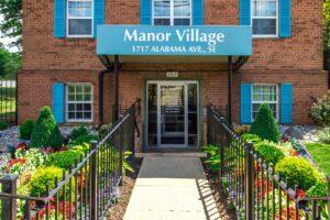 Manor Village-Affordable-Southeast-Rental-Exterior-signage