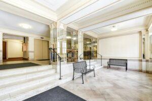 Wakefield-Hall-Lobby-Benches-Washington-DC-Apartment-Rental