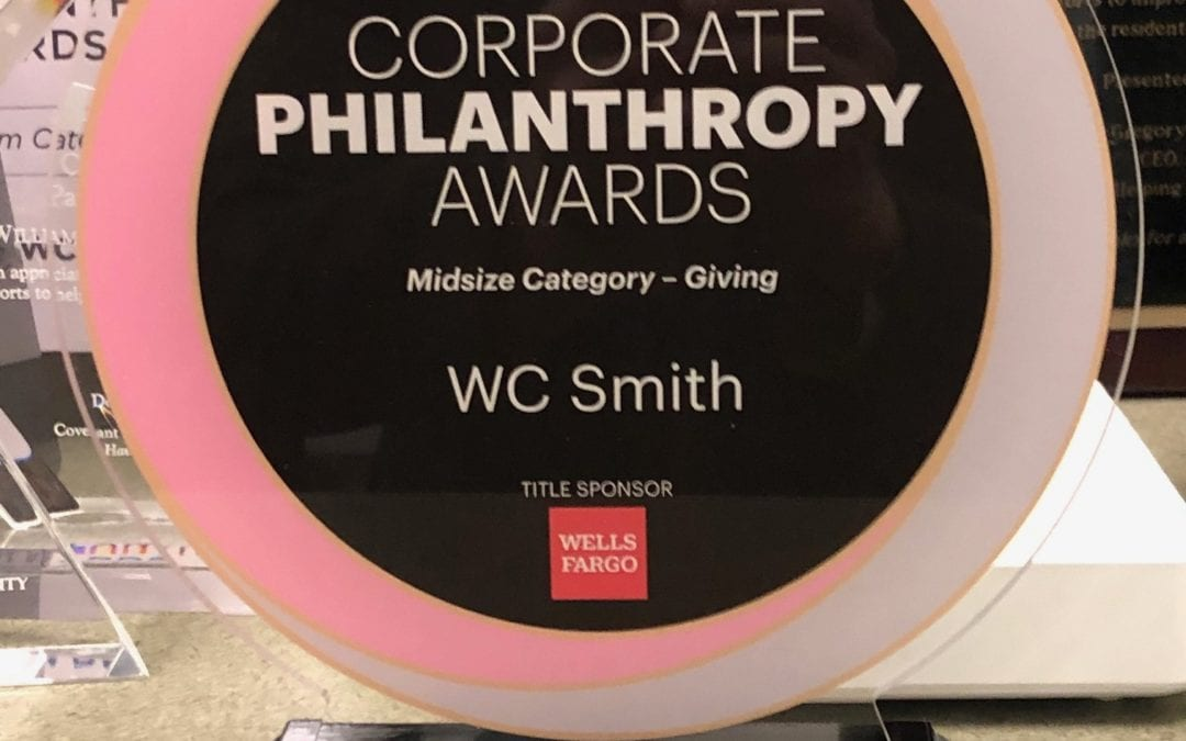 WC Smith Wins Corporate Philanthropy Awards from Washington Business Journal
