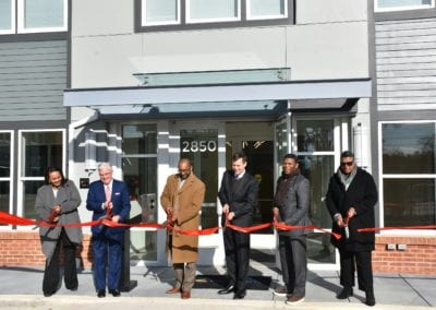 District Officials Join WC Smith at Ribbon Cutting for City View Apartments