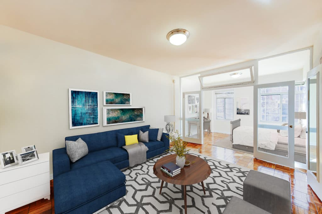 The-Baystate-NW-DC-Apartment-Rentals-Livingarea-with-sunroom-