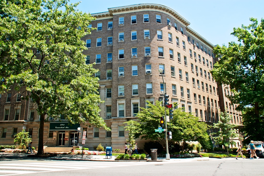 Happy 100th Birthday to 2701 Connecticut Ave. NW