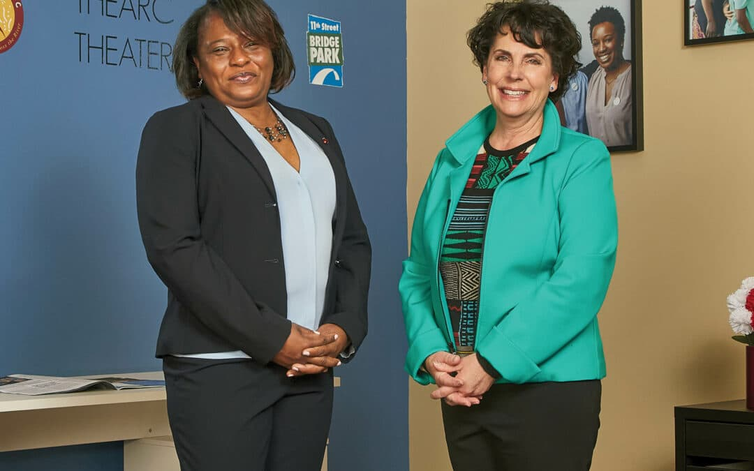 WC Smith's Rhonda Mitchell and Lisa F. Smith honored as Washingtonians of the Year