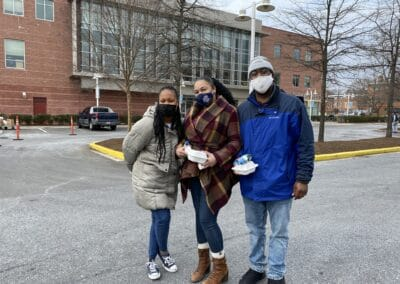 The Crest Leasing Team Lends a Hand at THEARC's COVID Relief Effort