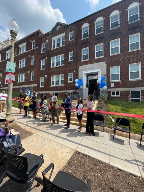 DC and Community Leaders Join WC Smith at Petworth Station Ribbon Cutting